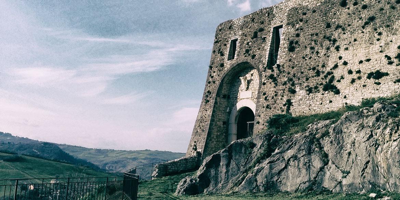 Il Castello d'Evoli di Castropignano